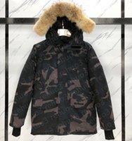 Down Jacket Parkas Mens OuterWear High-end Hooded Wolf Fur Windproof Vattentät vadderad Tjockad kappa Avtagbara Cap Coats Outdoor Jackets Varm och hållbar lång stil