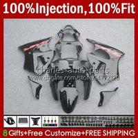 Stampo per iniezione Corpo per Kawasaki Ninja ZZR600 Black Glossy New ZZR-600 600 cc 05-08 Bodywork 100% Fit 38HC.177 ZZR 600 2005 2006 2007 2008 600cc 05 06 07 08 Kit carenatura OEM