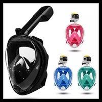Diving Masks Underwater Scuba Anti Fog Full Face Mask Snorkeling Set Child Respiratory Safe Waterproof Swimming Equipment -40