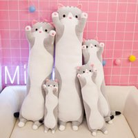 50cm Cute Kawaii Doll Anime Bear Stuffed Toy Hug Cute Cat Plush Stuffed Animals Pillow sonic plush kawaii room decor Kids Gift