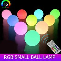 Colorful Floating Pool Lights LED Ball Fairy For Home Wedding Outdoor Lawn Landscape Decor Lighting Toys & Accessories