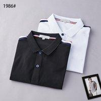 Tasarımcı Erkek Monclair Polo Gömlek Kadın T-Shirt Moda Giyim Nakış Mektup Iş Kısa Kollu Calssic Tshirt Kaykay Casual Tops Tees