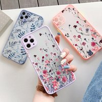 Cell Phone Mounts & Holders Hand Painted Case For X XS MAX XR Flower Cover Hard Shockproof 6s 7 8 Plus SE 2 12 11 Pro Mini