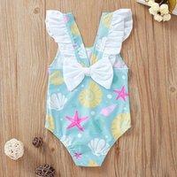 Clothing Sets Baby & Children's Infant Kids Girl Swimsuit Toddler Bikini Bow Swimwear Beach Bathing Suit