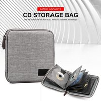 DVD Case Holder Portable Wallet Travel Bag Widely Used Storage Organizer In Car For Adults Children Interior Accessories1