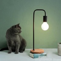 Table Lamps Nordic Fashion Art Lamp Bedside Lights Simple Modern Creative Learning Eye Protection Desk Living Room Bedroom