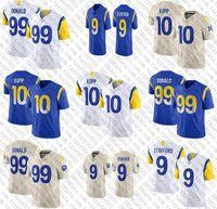 9 Matthew Stadord Football Jersey 99 Aaron Donald 10 Cooper Kupp 2011 قمصان للرجال