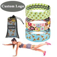 Resistance Bands Booty Fabric Set Hip Exercise Loops Elastic Fitness Gym Equipment Sports Legs Glute And Thighs Training