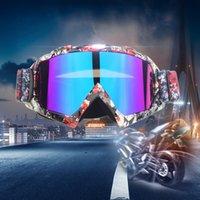 Motocycle Очки Goggle Открытый мотоцикл Велоспорт Off-Road Ski Sport ATV Dirt Bike Racing Skards для очки для мотокросса Fox