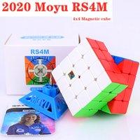2021 moyu rs4 م المغناطيسي 4x4x4 ماجيك مكعب 4x4 سرعة مكعب rs4m rs3m لغز مكعب rs3 m 3x3x3 cubo magico المنافسة مكعبات
