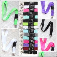 Bracelets And Cam Hiking Sports & Outdoorsmticolors Key Chain Lanyards Clothes Strap Cellphone Survival Custom Logo Lanyard Keychain Necklac