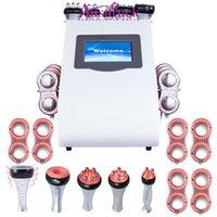 Slimming Machine Multi-Pol-AR RF 40K Cavitation Ultraljud Bio MicroCurrent Lipo Laser Lllt Wrinkle Avlägsnande Skönhet estetisk