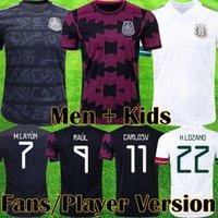 Top MexikoMexico Spieler Version Fußball Trikot 2020 Camisetas Gold Cup Fußballtrikots LOZANO CHICHARITO HERRERA GUARDADO Männer Kinder Uniform Maillots