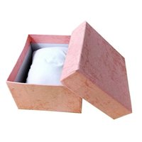 Watch Boxes & Cases Jewellery Gift Box Paper Cardboard With Pillow Storage Case Colors