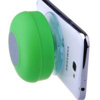 Mini Wireless Bluetooth Speaker Portable Subwoofer Waterproof Suction Speakers For Bathroom Pool Car Handsfree Novelty Items GGA3197-1