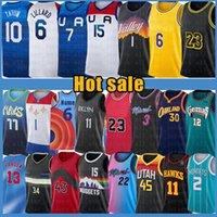 Los Angeles Lakers LeBron 23 6 James Kobe 24 8 Bryant Basketball Jersey  Carmelo 00 Anthony Earvin 32 Johnson Shaquille 34 O'Neal Black Manba 3 Davis Portland Trail Blazers