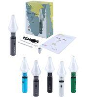 G9 Clean Pen v2 Wachs-Verdampfer-Zerstäuber-Starter-Kits 2in1 Trockenkräuter-DAB-Rig-Bong E-Zigaretten-Vape-Patronen 1000mAh einstellbare Spannungsbatterie