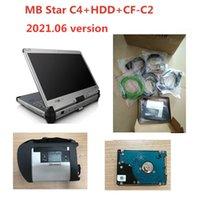 Scanner OBD2 MB Star C4 Multiplexer Star Diagnosis SD Connect C4 2021.06 Software completo con strumento diagnostico CFC2 CF-C2