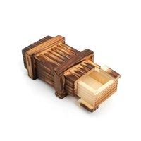 Головоломки старинные деревянные хранения Скрытый волшебный подарок секрет дерзкий мозг тизер головоломки коробка груди игрушка обучающие игрушки детские подарки LWVPG OIPAL