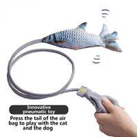 Cat Toys Toy Creative Pet Funny Accessories Stick Simulation Beating Fish Chats Jouet Chat Brinquedos