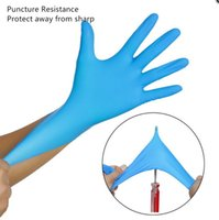 Disposable Gloves 100pcs box Nitrile Latex Dishwashing Home Service Catering Hygiene Kitchen Garden Cleaning Wholesale I7t7