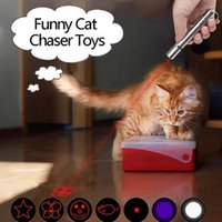 Cat Toys 1PC Funny Laser Pet Toy 5 Patterns Red Dot Light Creative Sight Pointer Pen Interactive