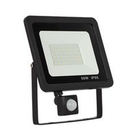 Floodlights PIR Motion Sensor LED Floodlight 30W 50W 100W 220V Waterproof Outdoor Wall Garden Spotlight Reflector Light Projector
