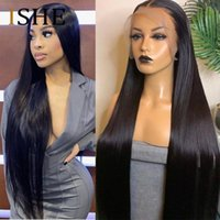 Lace Wigs 13x4 13x6 Straight Front Human Hair 30 Inch Frontal Wig Brazilian For Women Pre Plucked 250%