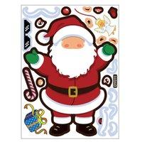 Weihnachtskinder Cartoon DIY Aufkleber Nette Mini Santa Schneemann Weihnachtsbaum Paster Fenster Schreibtisch Buch Bleistift-Box Abziehbilder Koffer Aufkleber G85OMUJ