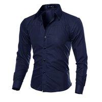 5XL plus größe marke-kleidung baumwolle herren kiothing solide weiche männer hemd langarm herren shirts casual slim fit 210730