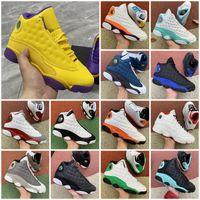Jumpman 13 13s Flint Açık Ayakkabı 11 11s Erkek Bayan Şanslı Yeşil Soar Bahçesi Lakers 1 1 S Spor Sneakers Eğitmenler Boyutu 36-47