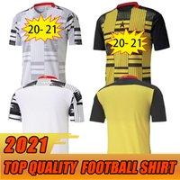 20 21 غانا توماس لكرة القدم الفانيلة Home Schlupp Kudus J.ayew Caleb Ekuban Samuel Owusu Soccer Shirt فريق كرة القدم الوطني