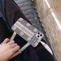 Casos de têxteis da bolsa do ombro da forma com designer bonito da marca do CD para iphone 11 12Pro 11xs xsmax xr 8Plus 8 7PLUS atacadista