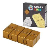 Tiktok Infinity Magic Cube Zappeln Spielzeug Kreativer Himmel Antistress Office Flip Cubic Puzzle Mini Blocks Dekompression Spielzeug
