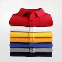 2021 Moda Yaz Polo Gömlek Timsah Nakış Profesyonel Erkek Rahat T Shirt Trend Polos Kadınlar için Kısa Kollu Yüksek Street Tee