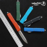 Hifinder hunt knife blade:D2(Satin) tool handle camping survival outdoor EDC version Tactical Aluminum kitchen dinner 6061-T6 Mkchq