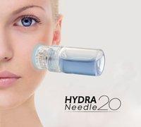 Hydra 20 Pin Mikro İğne Titanyum İpuçları Derma İğneler Cilt Bakımı Anti Aging Beyazlatmak Şişe Damga Serum Enjeksiyon Yeniden Kullanılabilir