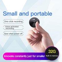 Digital Voice Recorder Q37 Mini Audio Pen Portable Round Record Device One-key Recording For Meeting Study