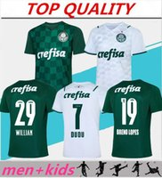 21 22 Palmeiras Soccer Jersey Home Green Dudu G.Jesus B. Jesus B. Henrique Alecsandro 2021 2022 الرجال + أطفال مجموعات قميص كرة القدم