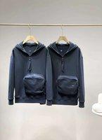 Inf Otoño e invierno Sudadera Hombres Hip Hop New Classic Hoodies Sudaderas Masculino Color Sólido Color Alto Collar Suéter Casual SW
