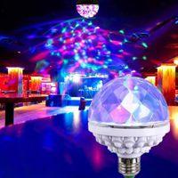 Parti Dekorasyon LED Lazer Işık Projektör Kulübü Stautelight Sahne Sihirli Top Disko Gece Lambası Ev Odası Noel Dekor Ampul