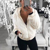 Women's Jackets Women Casual Long Sleeve Coat Female Solid Color Pockets Zipper Jacket Autumn Winter Tops Ladies Outerwear