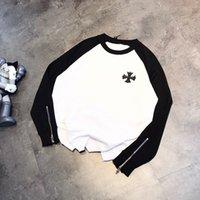 Crisin 302A Spring New Back Cross Вышитый свитер
