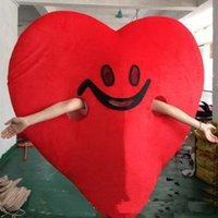 Simulazione amore rosso cuore costume da mascotte di halloween natale fantasia festa vestito dei cartoni animati personaggio del personaggio del carattere del personaggio unisex Adulto