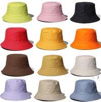 الصياد القبعات القطن لون نقي حوض قبعة التظليل في الهواء الطلق طوي المرأة ربيع الخريف الصيف الشمس حماية كاب الألومنيوم سلك owc7518