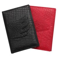 Card Holders Crocodile PU Leather Passport Cover Russian Auto Driver License Bag 2 In 1 On For Car Driving Documents Credit Holder