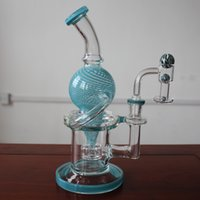 Smoke rig pipes kit real color glass clear melt joint heavy body vacuum stack brosilicate pyrex with a quartz banger and splash balls