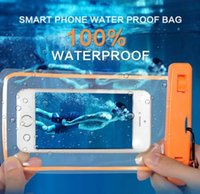 Luminous Waterproof Protective Mobile Phone Bag Pouch Case Diving Swimming Sports Drifting For iPhone XS 11 12 mini NOTE 7 JO2P