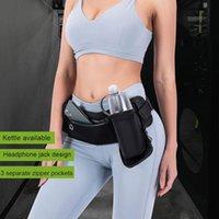 Outdoor Bags Sport Pouch Phone Carrier With Water Bottle Holder Lightweight Waist Bag Reflective Strip Jogging Hiking Waterproof Running Bel