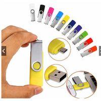 Micro Usb Flash Drive 128GB 64GB Otg Usb3.0 8GB 16GB Cle Usb Stick 32GB 4GB Pendrive Free Logo Memory Stick Pen Drives
